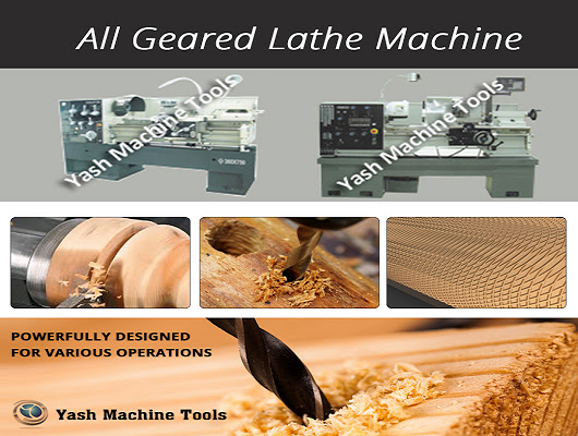 Medium Duty Lathe | Yash Machine