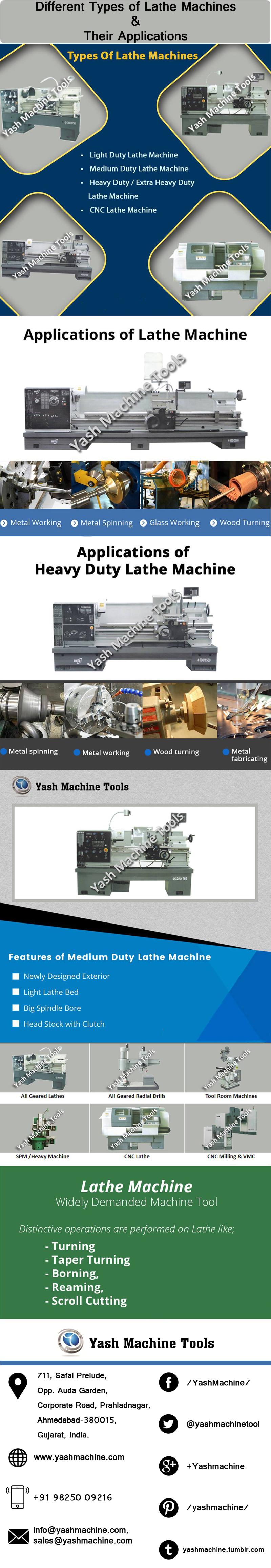 Medium Duty Lathe | Yash Machine